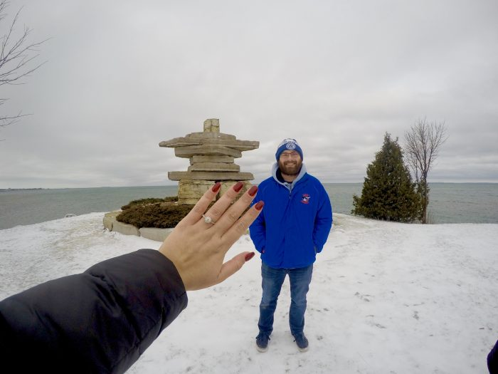 Maggie's Proposal in Collingwood, ON Canada