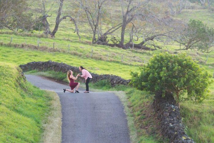 Wedding Proposal Ideas in Thompson Road, Kula, Maui, Hawaii