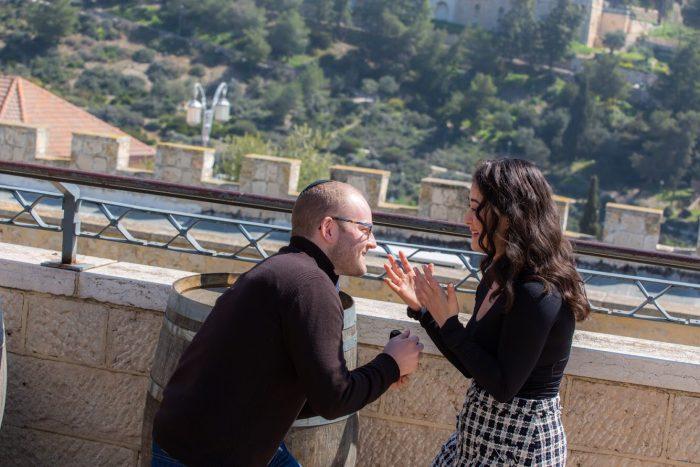 Marriage Proposal Ideas in Jerusalem, Israel