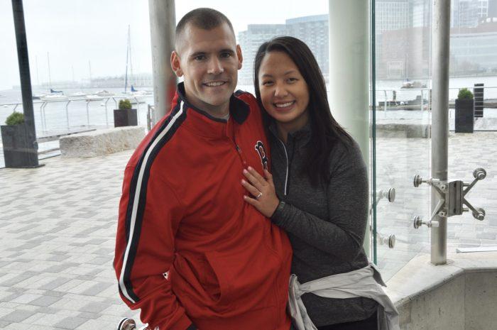 Marriage Proposal Ideas in New England Aquarium