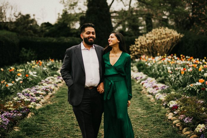 Usman and Ann's Engagement in Dumbarton Oaks | Washington DC