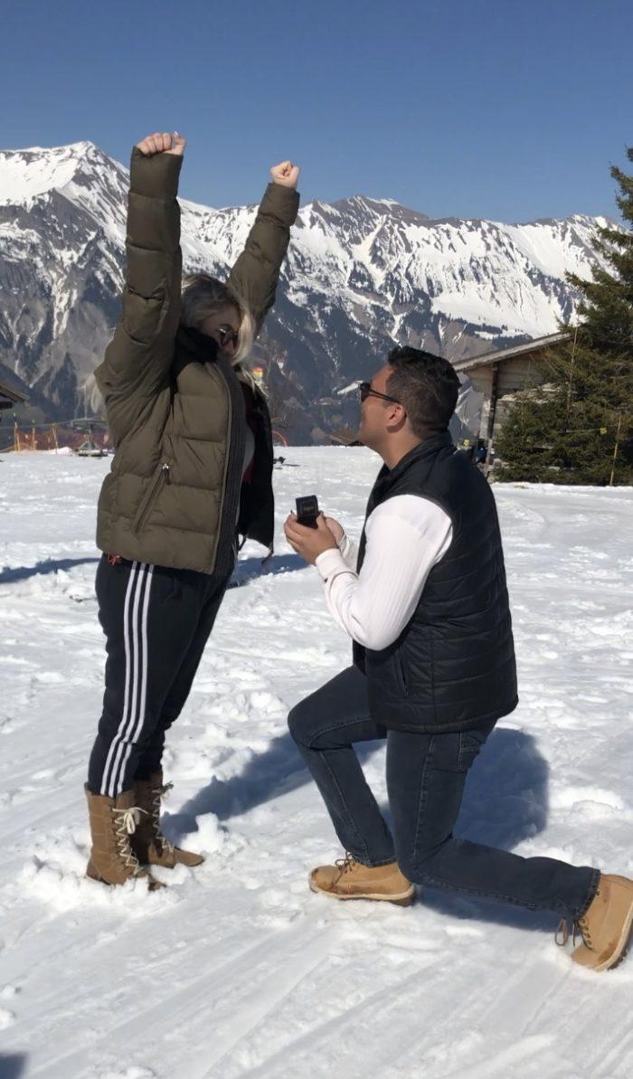 Wedding Proposal Ideas in Swiss Alps, Switzerland