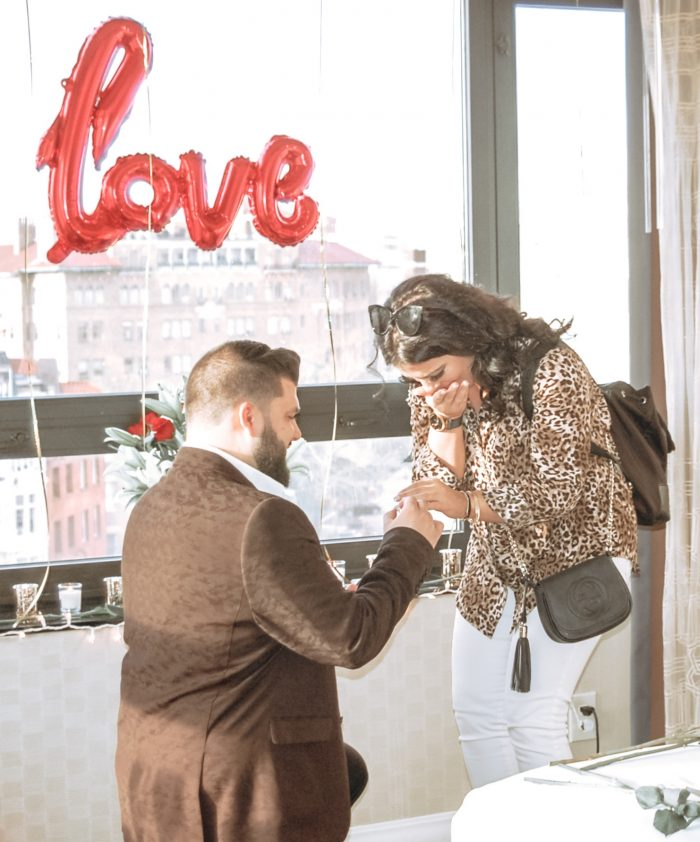 Engagement Proposal Ideas in Washington Hilton