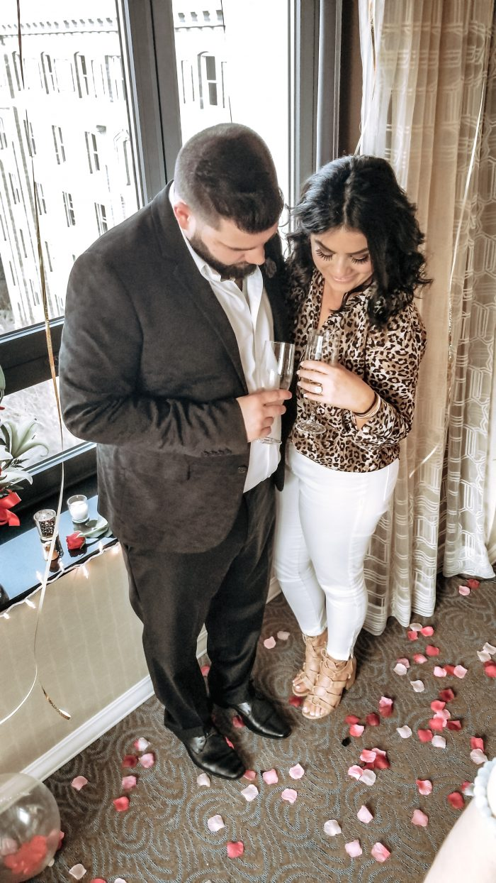 Georgia's Proposal in Washington Hilton