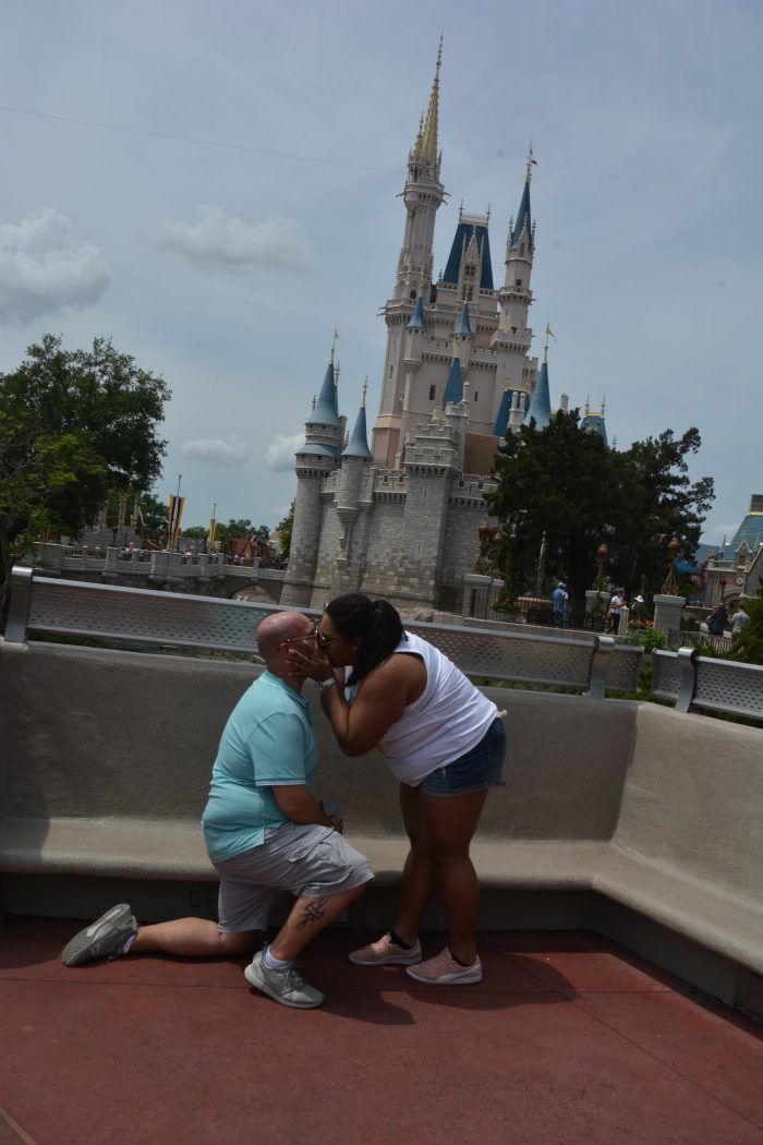 Engagement Proposal Ideas in Magic Kingdom Walt Disney