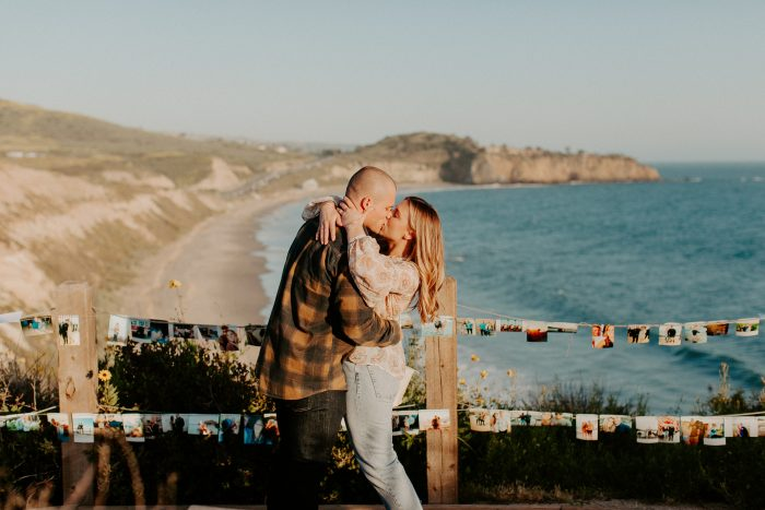 Kara and Zane's Engagement in Crystal Cove State Park