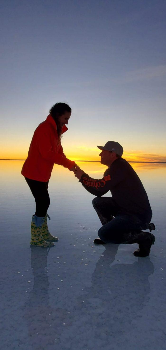 Wedding Proposal Ideas in Salar de Uyuni (Bolivia)