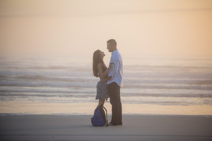 Candice M. and Benjamin C.'s Engagement in Ponce Inlet
