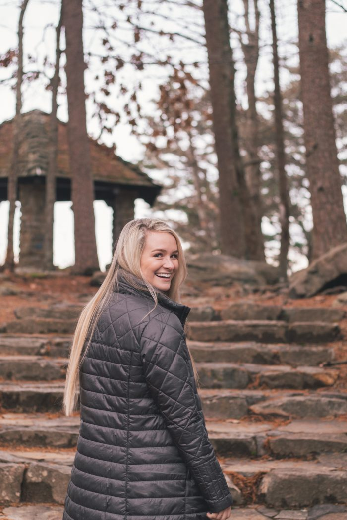 Erin and Aleks's Engagement in Chilhowee Mountain in East Tennessee