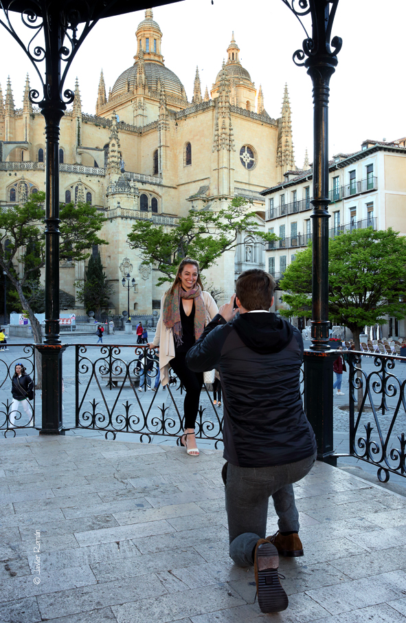 Engagement Proposal Ideas in Segovia, Spain