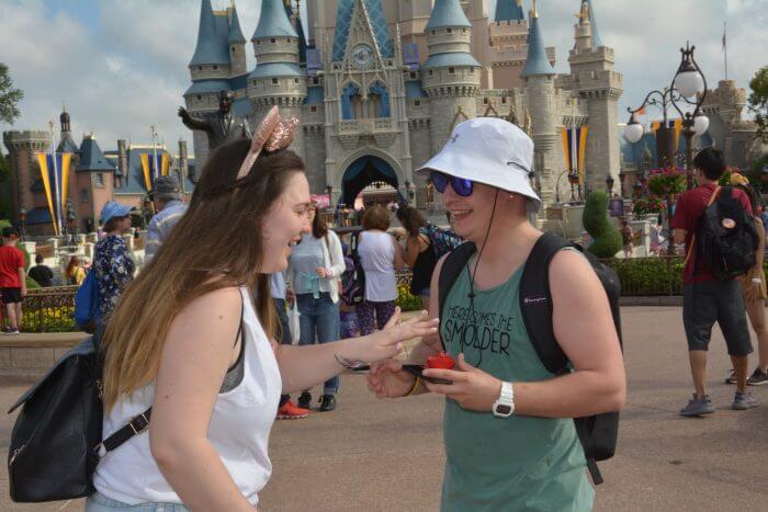 Engagement Proposal Ideas in Walt Disney World Magic Kingdom