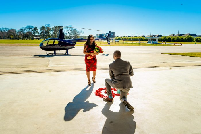 Marriage Proposal Ideas in West Houston Airport