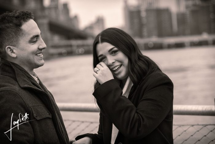 Where to Propose in Under the Brooklyn Bridge - New York