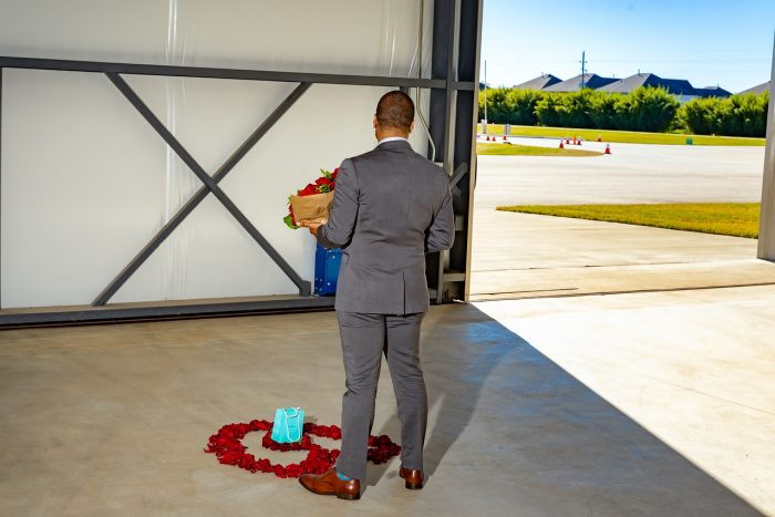Engagement Proposal Ideas in West Houston Airport