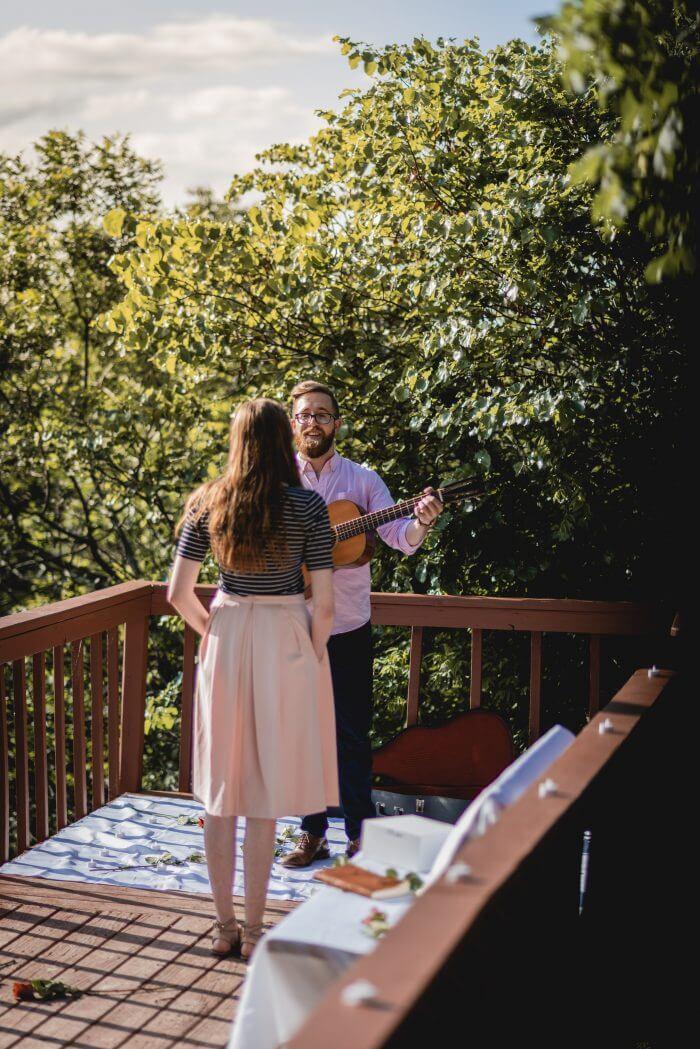 Sarah's Proposal in Dallas, Texas