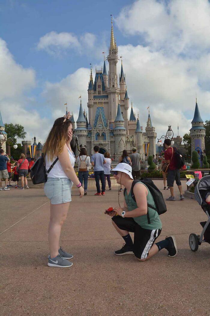 Liz's Proposal in Walt Disney World Magic Kingdom