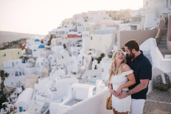 Proposal Ideas Santorini, Greece