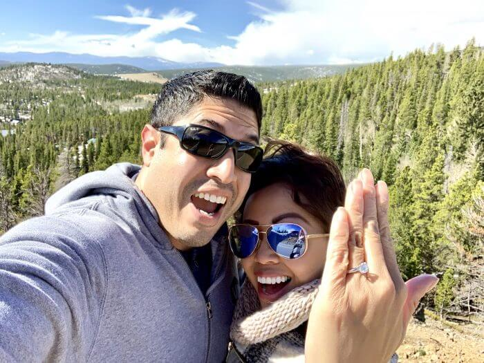 Cynthia's Proposal in Ward, Colorado