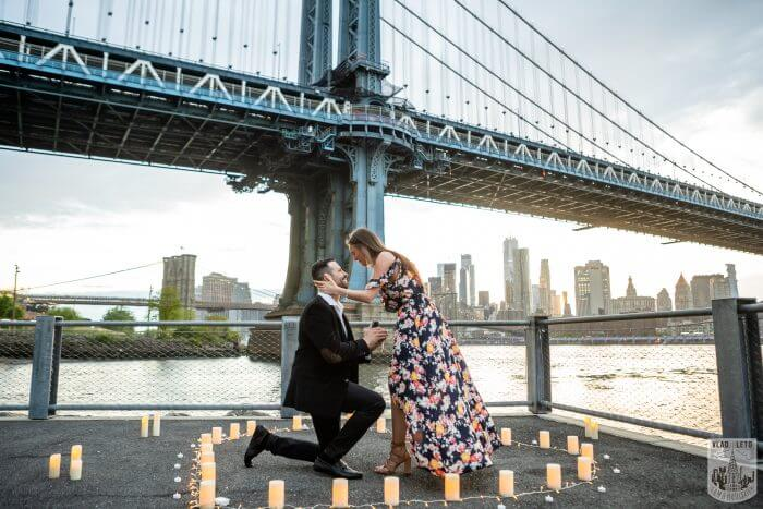 Where to Propose in Dumbo, Brooklyn