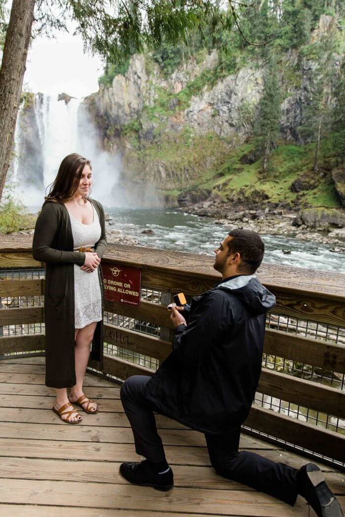 Paige and Devon's Proposal on The Knot's HowTheyAsked com