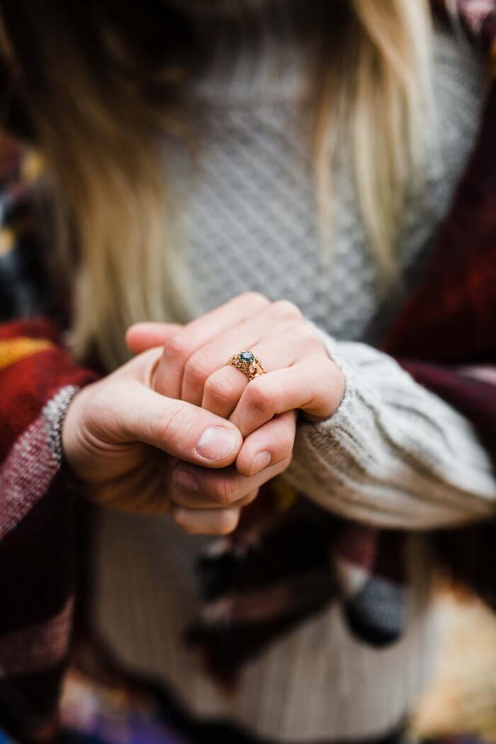 Blythe's Proposal in Castlewood State Park, Missouri