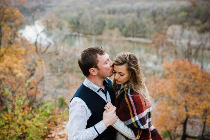 Where to Propose in Castlewood State Park, Missouri