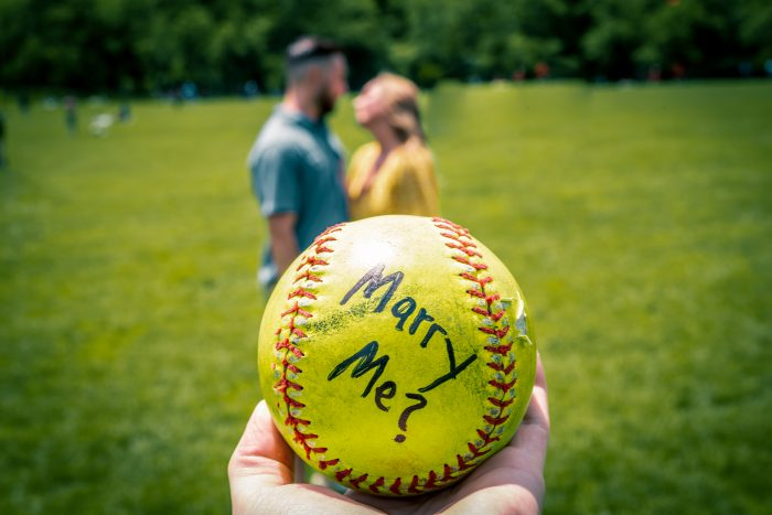 Wedding Proposal Ideas in Central Park NYC
