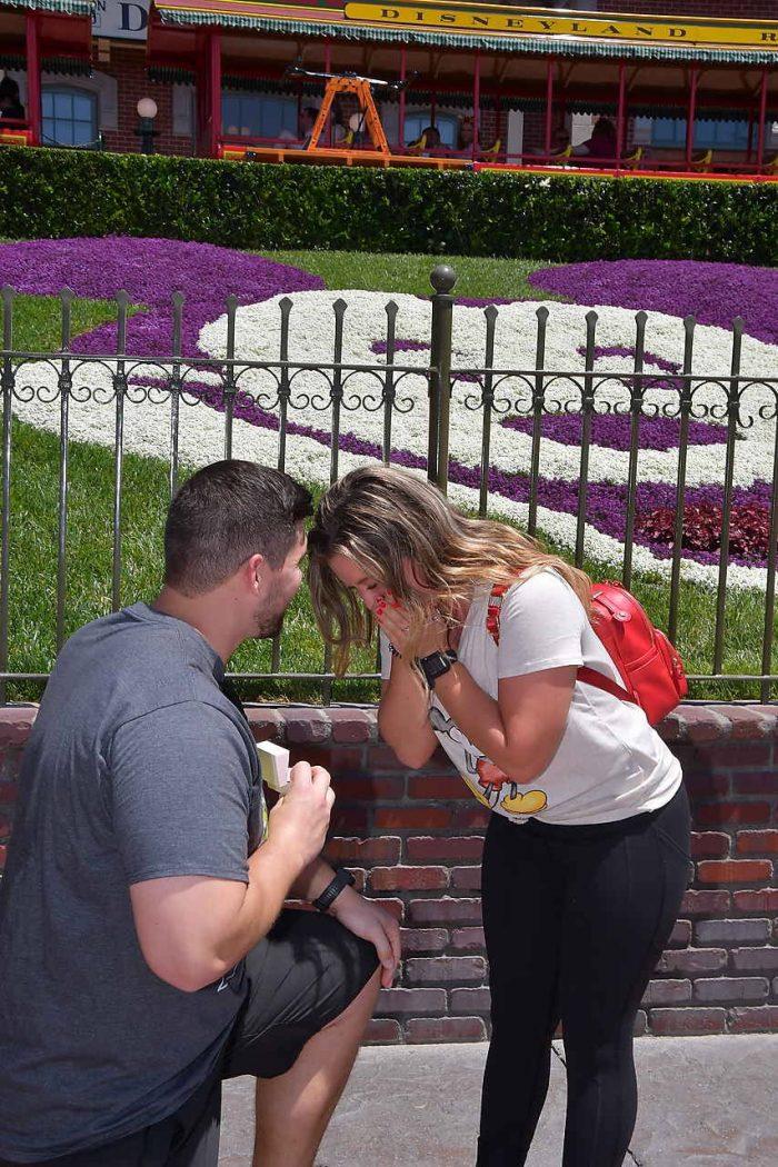 Cassidy's Proposal in Disneyland