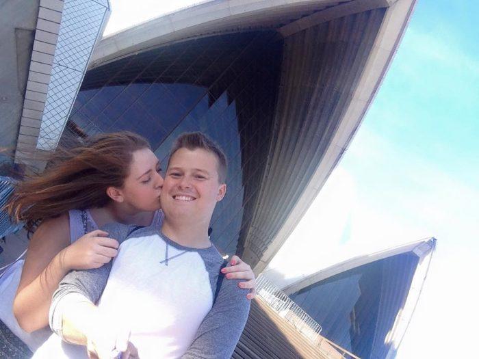 Kristyn's Proposal in Seljalandsfoss Waterfall in South Iceland