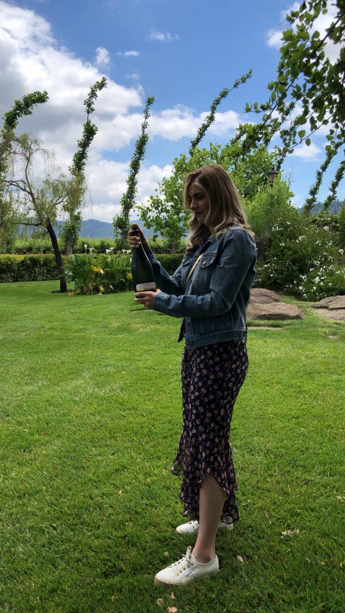 Veronica's Proposal in Peju Winery, Napa, CA