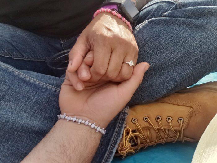 Breanna's Proposal in Taste of Country Music Festival in Hunter, NY