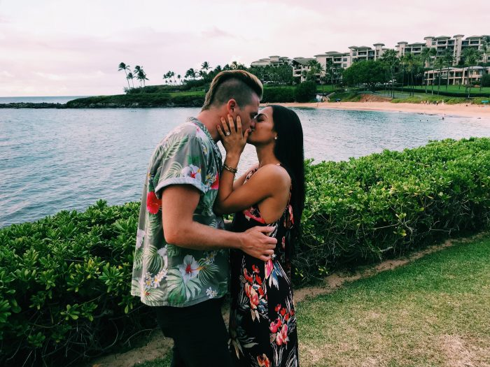 Where to Propose in Merriman's in Maui, Hawaii