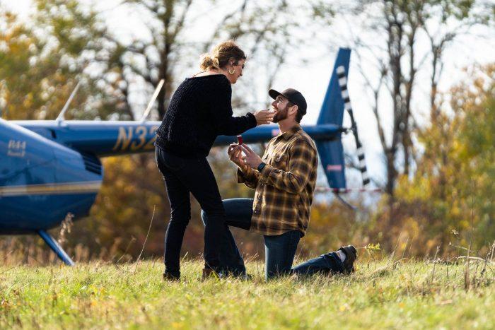 Laura's Proposal in La Crosse, Wisconsin