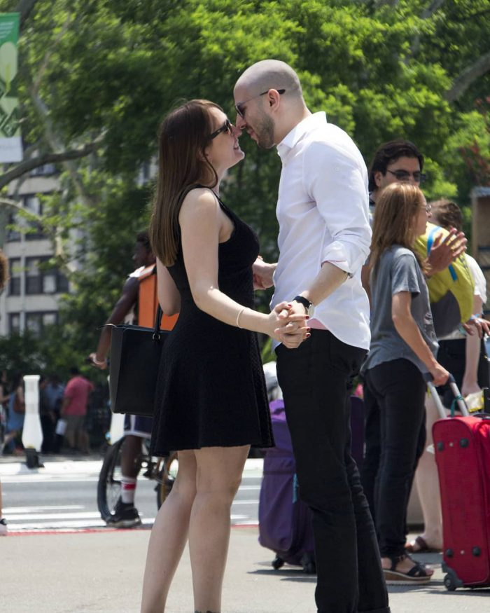 Andres Caban and Vlada's Engagement in New York City