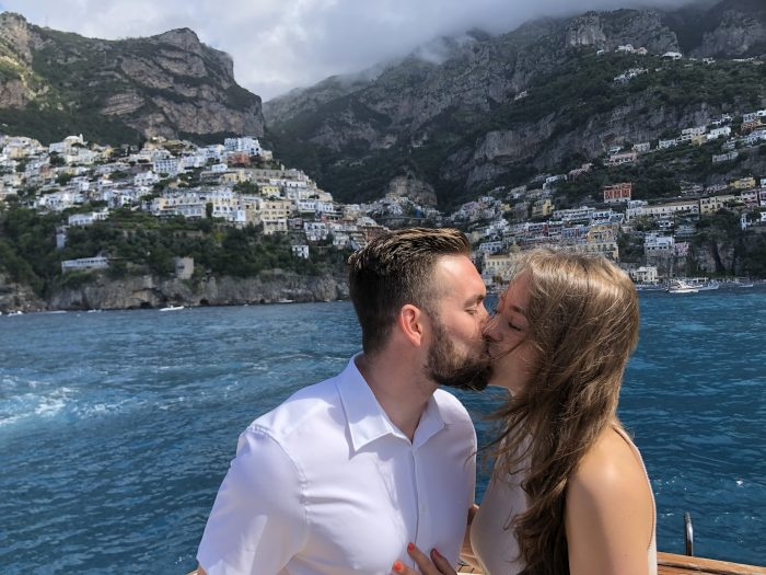 Kelsey's Proposal in Positano, Italy