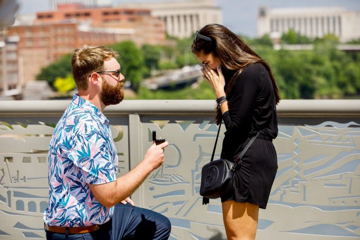 Elizabeth's Proposal in Nashville, TN