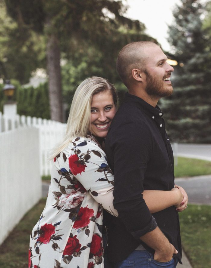 Mackenzie and Thomas's Engagement in Gracewood Estate