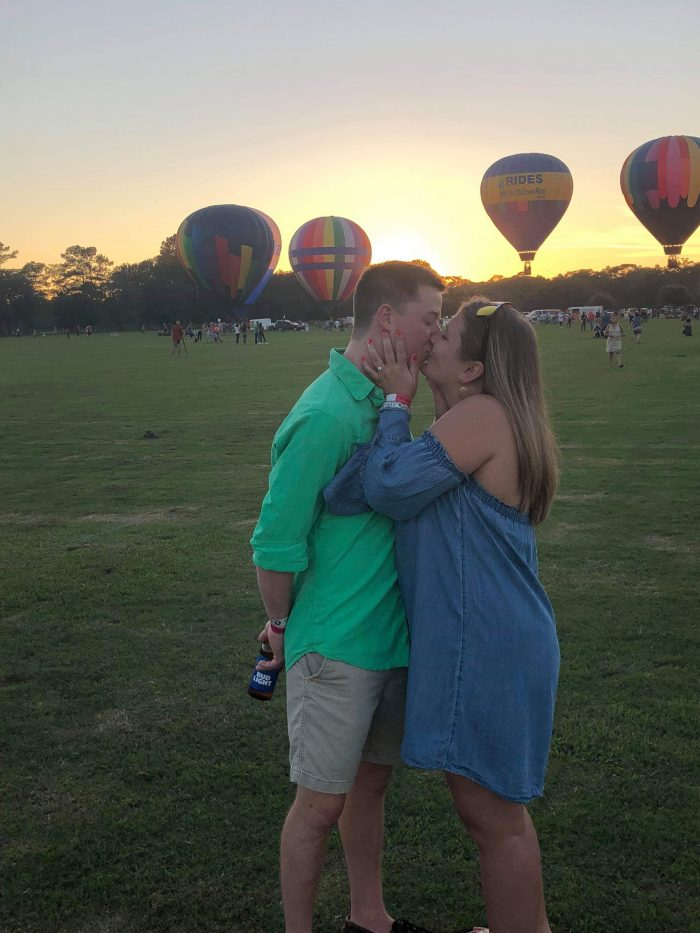 Elaina and Jacob's Proposal on The Knot's HowTheyAsked com