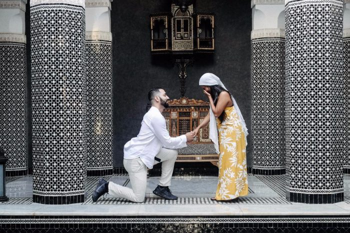 Tatiana's Proposal in Morocco
