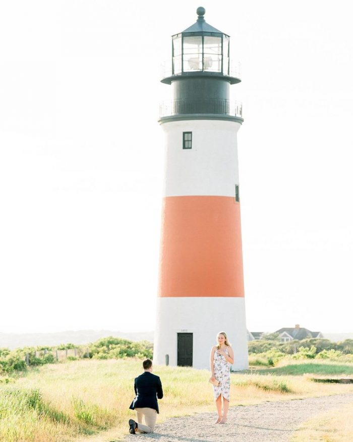 Where to Propose in Sankaty Head Light, Nantucket, MA