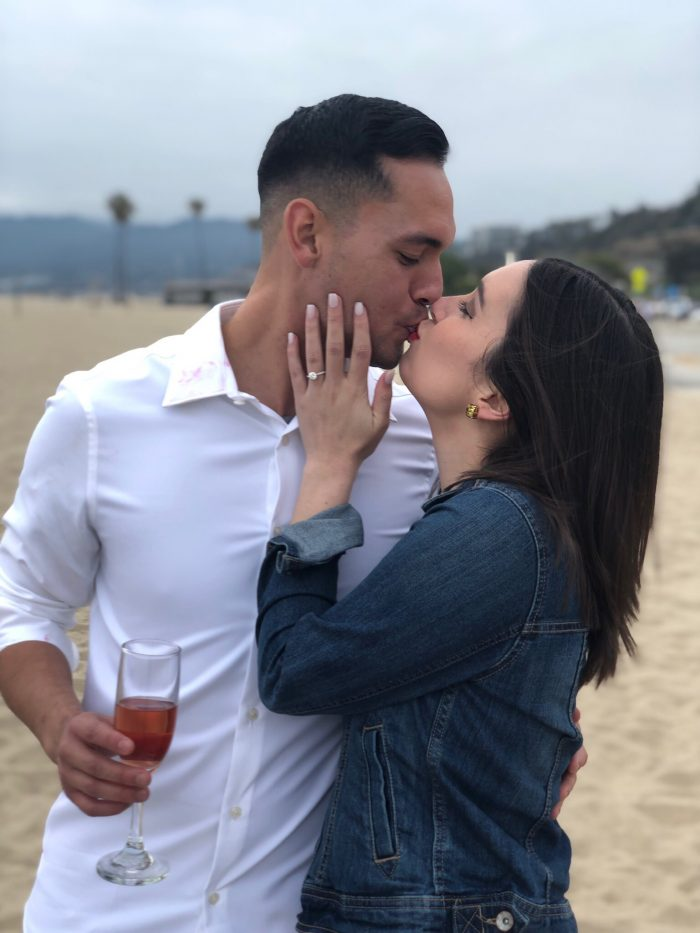 Maggie and Daniel's Engagement in Santa Monica, CA