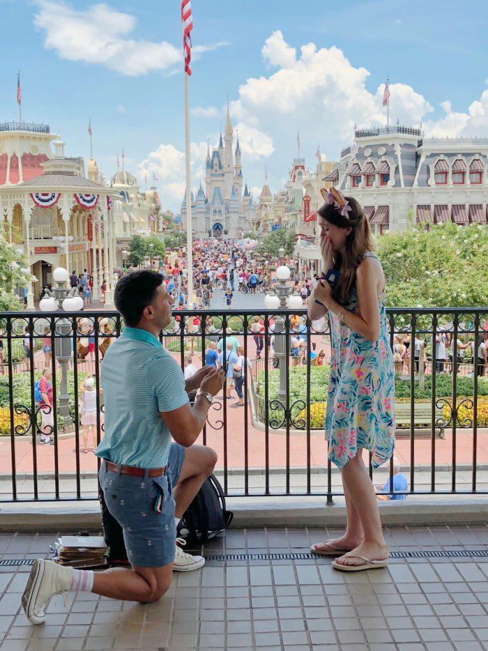 Alexandra's Proposal in Disney