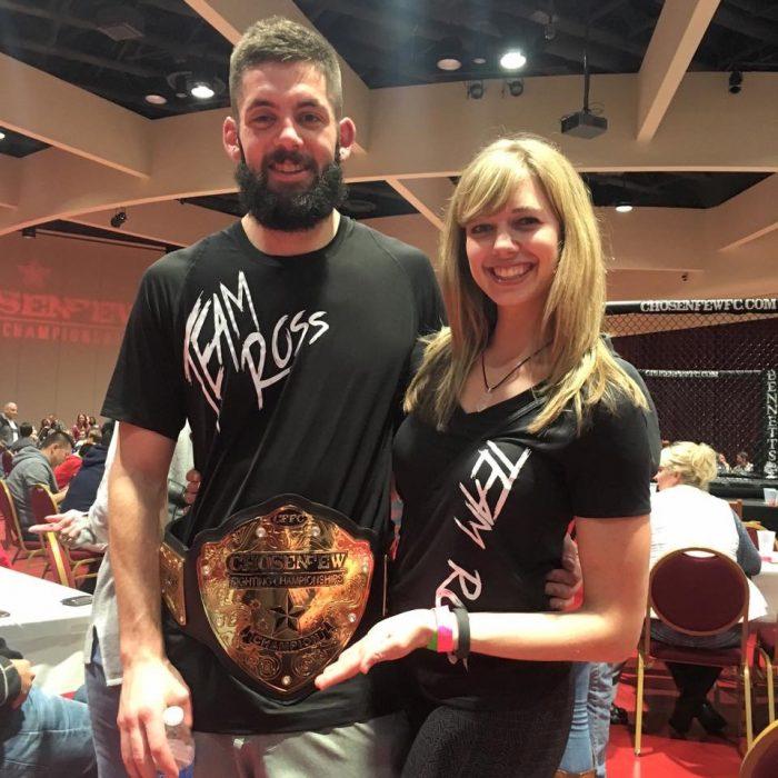Marriage Proposal Ideas in MMA fight in Onalaska WI