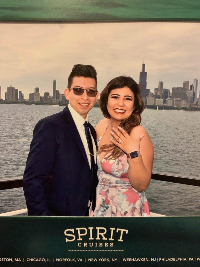 Engagement Proposal Ideas in Navy Pier Spirit Cruise