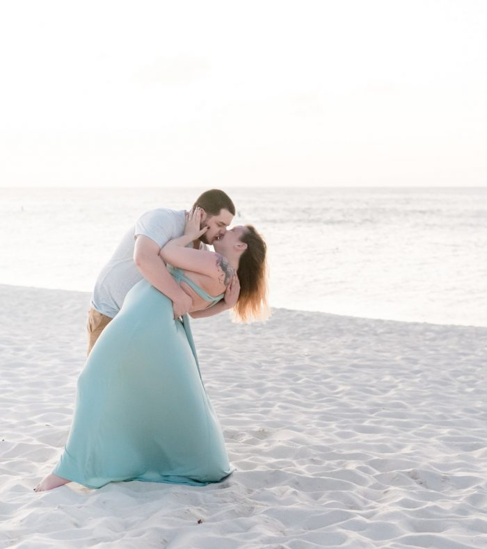 Katie's Proposal in Carribean