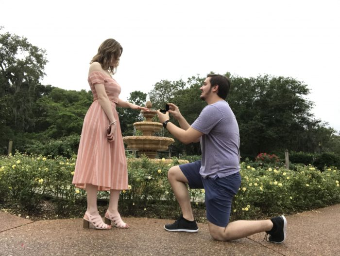 Where to Propose in Harry P. Leu Gardens in Orlando, Florida