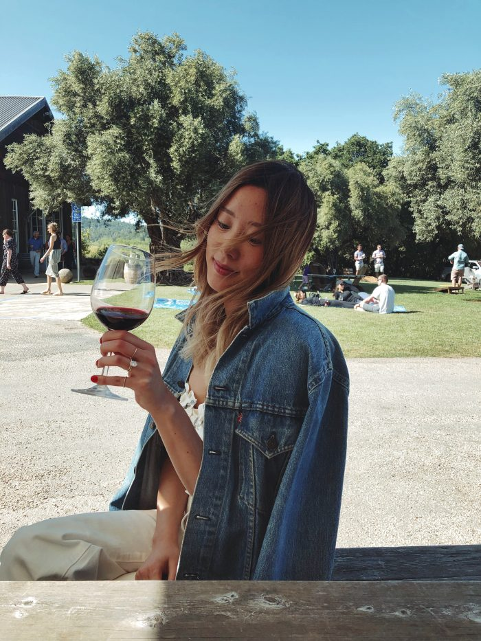 Haein's Proposal in Our favorite winery in Sonoma, CA