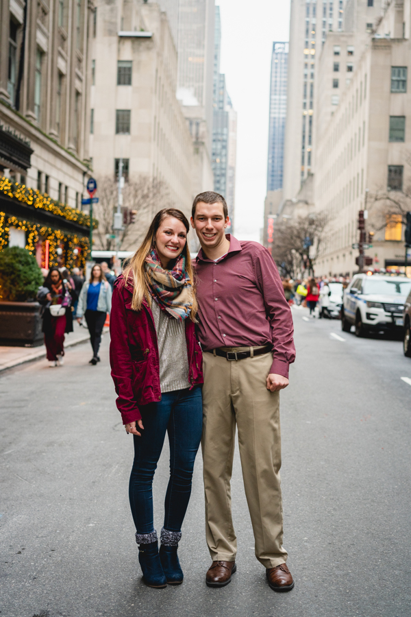 Marriage Proposal Ideas in New York City- Rockefeller Christmas Tree