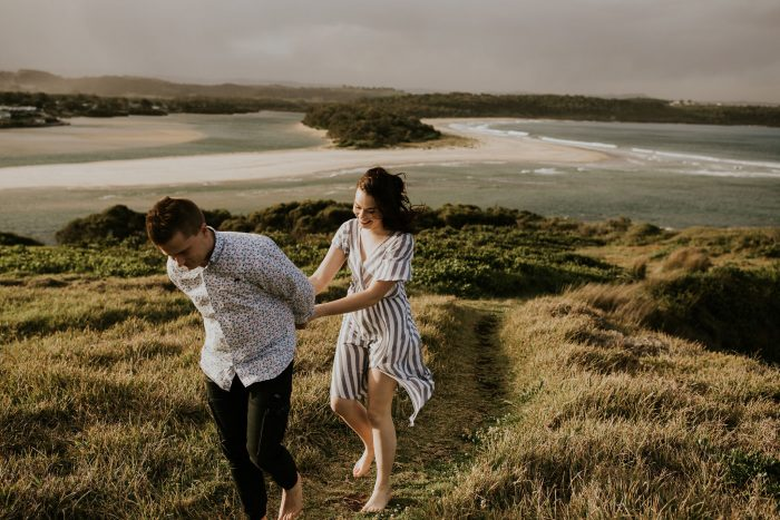 Charlotte and Reece's Engagement in Minnamurra, NSW Australia