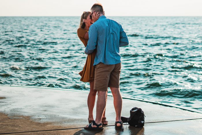 Abigail and Jonah's Engagement in Holland State Park